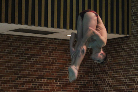 Ike Khamis wins State diving title
