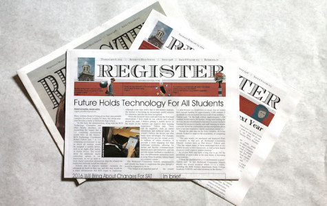 WEB: RHS Register Named in Top 8 In Newspaper Competition