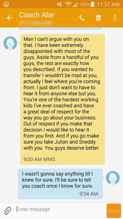 Tawfeek resigns from coaching, teaching amid controversy over text message to player