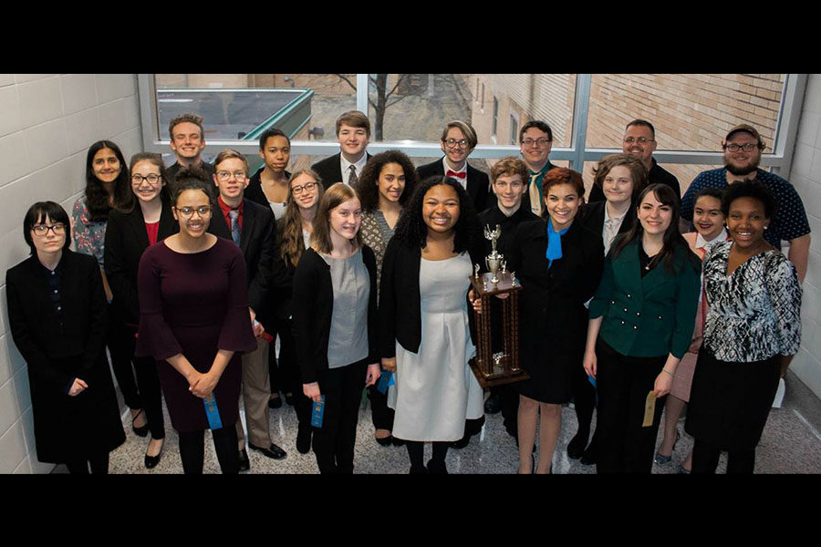 Speech talks their way to a Sectional title