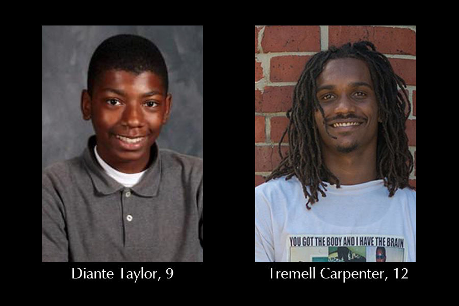 Taylor, Carpenter killed in weekend incidents