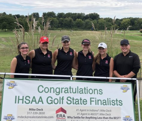 Girls golf lands on the State green