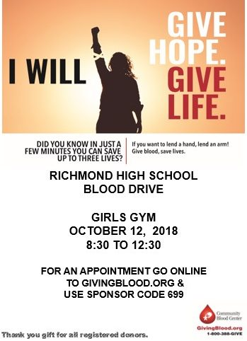 A chance to get in the driver's seat of the blood drive