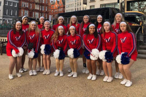 Two All American cheerleaders earn trip to London