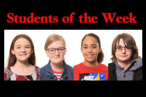 Students of the Week – 2/25/19