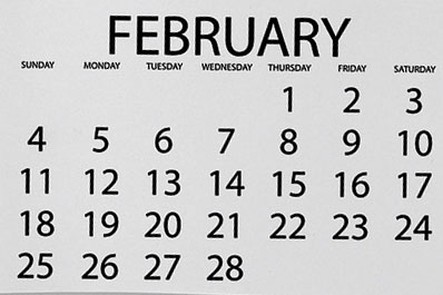 Events of February