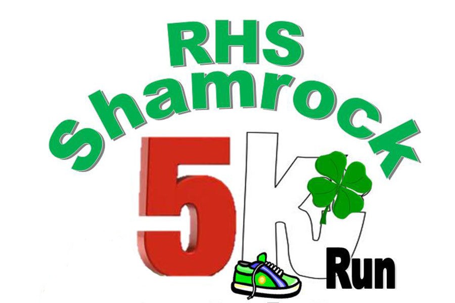 Shamrock run arriving at face pace
