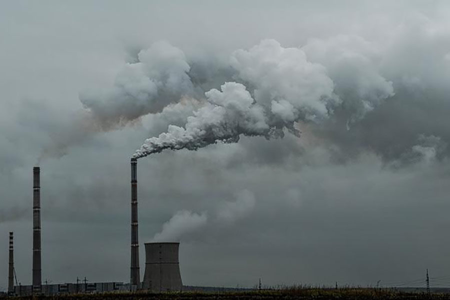 Fossil fuels are causing air pollution and filling the atmosphere with greenhouse gases.
