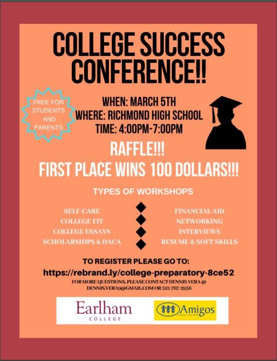 Information on College Success Conference