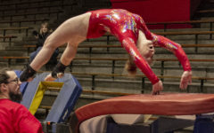 Women's Gymnastics team takes on State