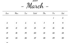 Events of March
