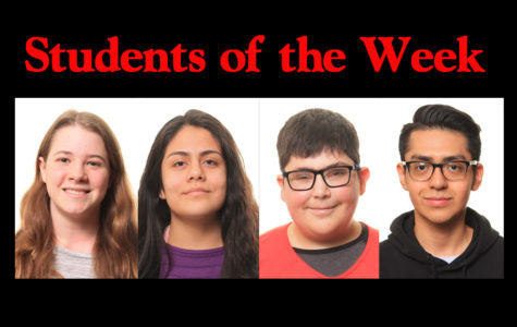 Students of the Week - 3/4/19