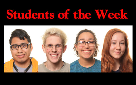 Students of the Week - 3/18/19