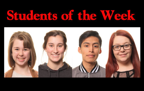 Students of the week - 3/11/19