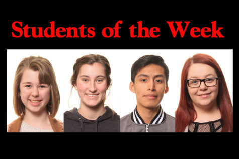 Students of the Week – 3/4/19