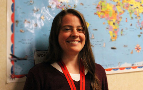 Social studies teacher Abby Busse
