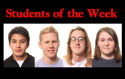 Students of the week - 4/1/19