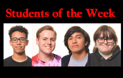 Students of the week - 5/13/19