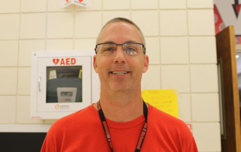 PE teacher Tony Lewis