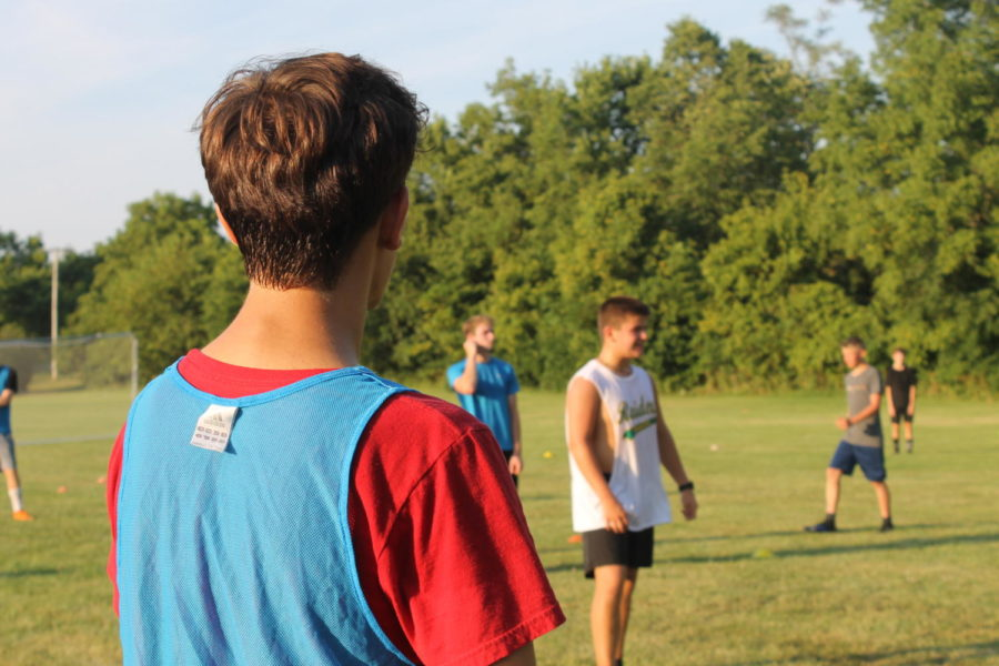 Boy's soccer team kicks off the season