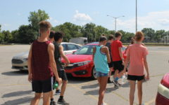 Cross country races towards season