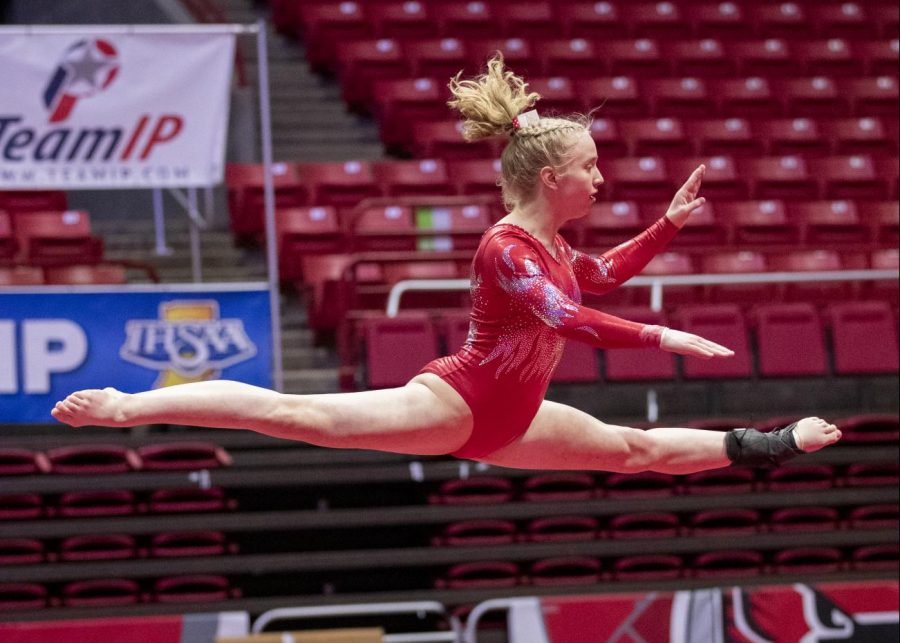 Ruger wins gymnastics State Championship