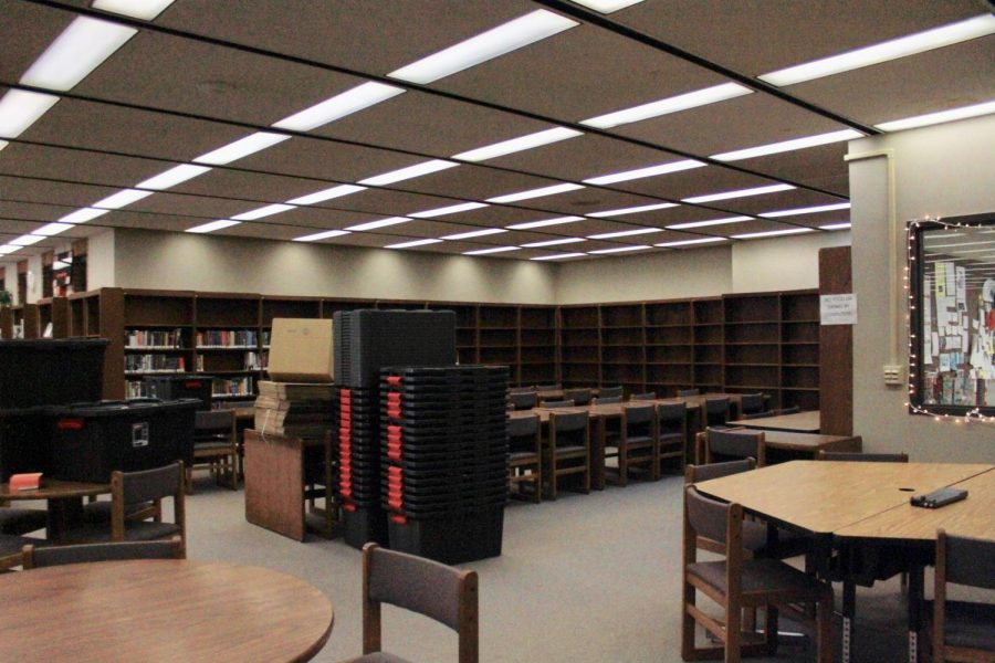 Books have already begun being packed away and will be back on the shelves after the renovations are complete.