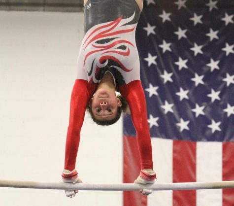 Girls Gymnastics Team Prepares for State